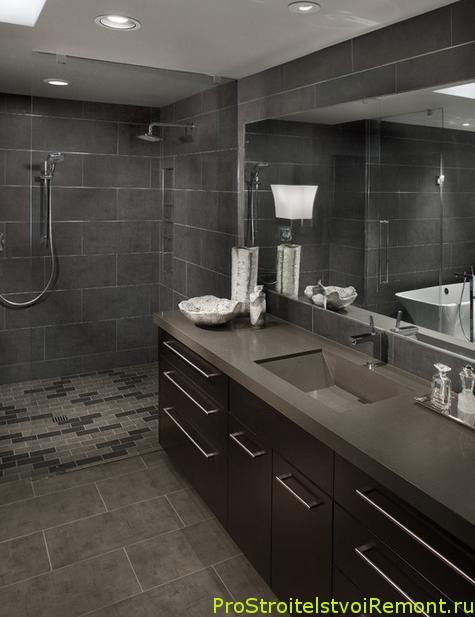 Дизайн потолка в ванной фото