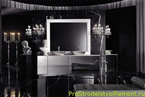 Современный итальянский стиль ванной комнаты фото