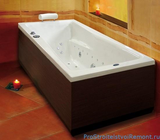 Дизайн ванной. Акриловые ванны фото
