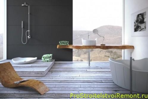 Современная мебель для ванной комнаты фото
