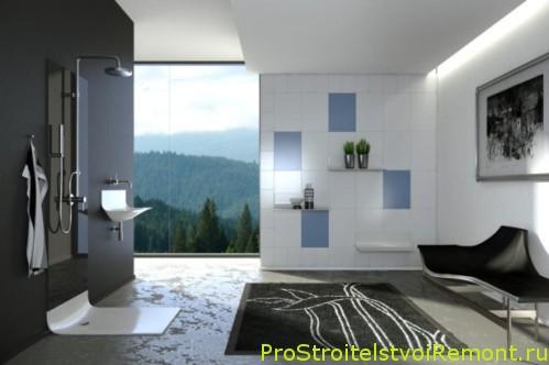 Фотографии современной ванной комнаты