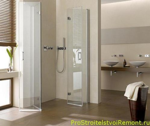 Фото современной ванной комнаты с душевой кабиной фото