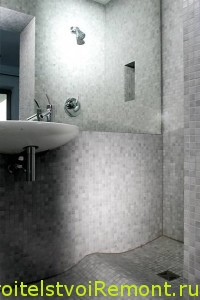 Дизайн ванной комнаты с душевой кабинкой интерьер фото