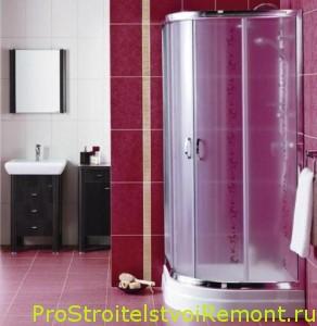 Фотографии интерьера ванной комнаты с душевой кабинкой фото