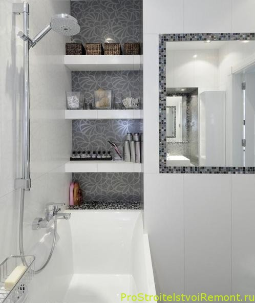 Интерьеры ванных комнат фото