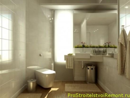 Дизайн ванной комнаты в современном стиле фото