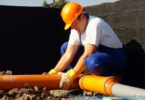 Водопроводные и канализационные пластиковые системы