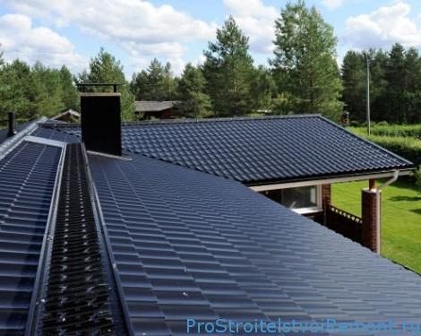 Выбор системы водостока для плоской крыши