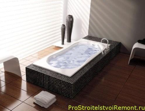 Монтаж ванной комнаты фото