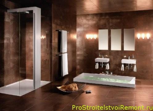 Дизайн красивой ванной комнаты фото
