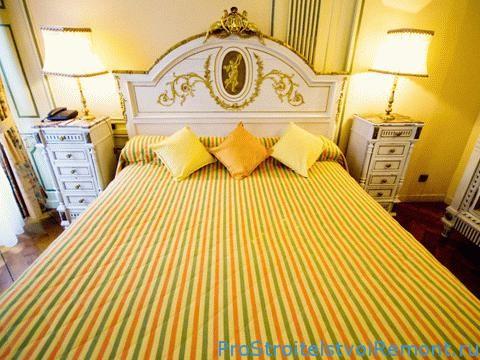 Дизайн спальни в желтом цвете фото
