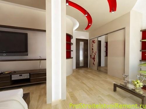 Дизайн зала фото