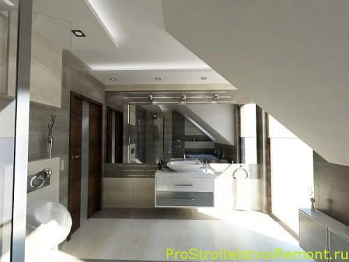Дизайн спальни на чердаке фото